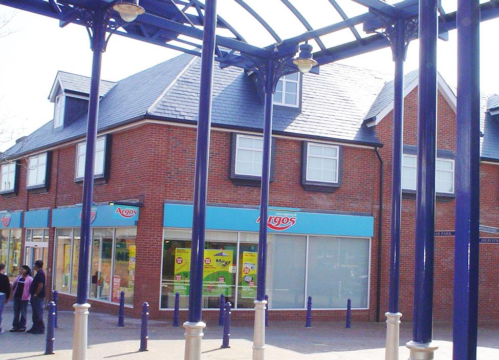 Edinburgh House Estates, New Argos store