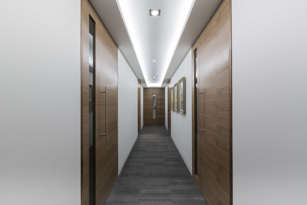 Howden Meeting Room Corridor