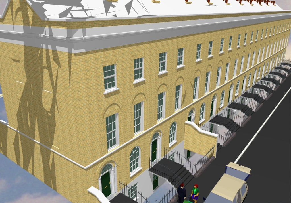 International Property Holdings, Tredegar Square terrace extension