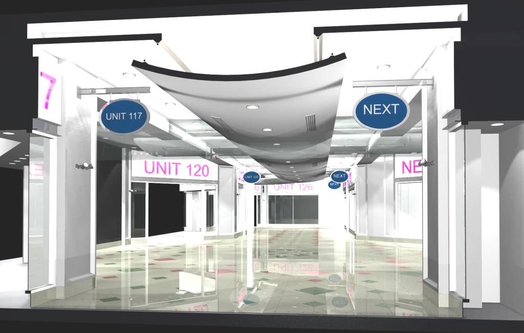 McArthur Glen, Livingston Mall design concept