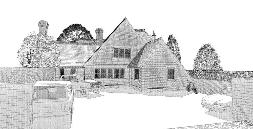Chauffeurs Cottage Rebuild 5a Comments.071210 V3 crop